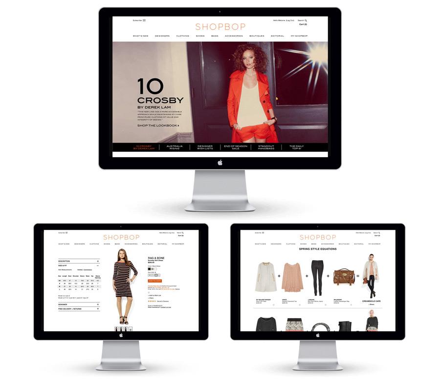 SHOPBOP.COM Redesign