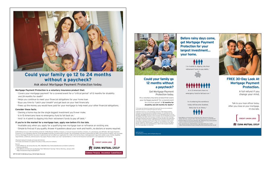 CUNA Mutual Group Mortgage Payment Protection Pilot Project