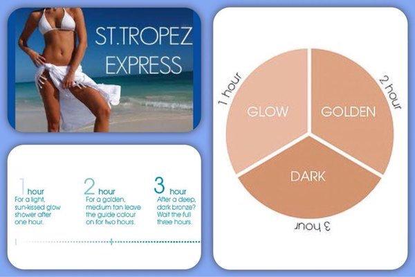 MOST POPULAR - St. Tropez - Express Self tan