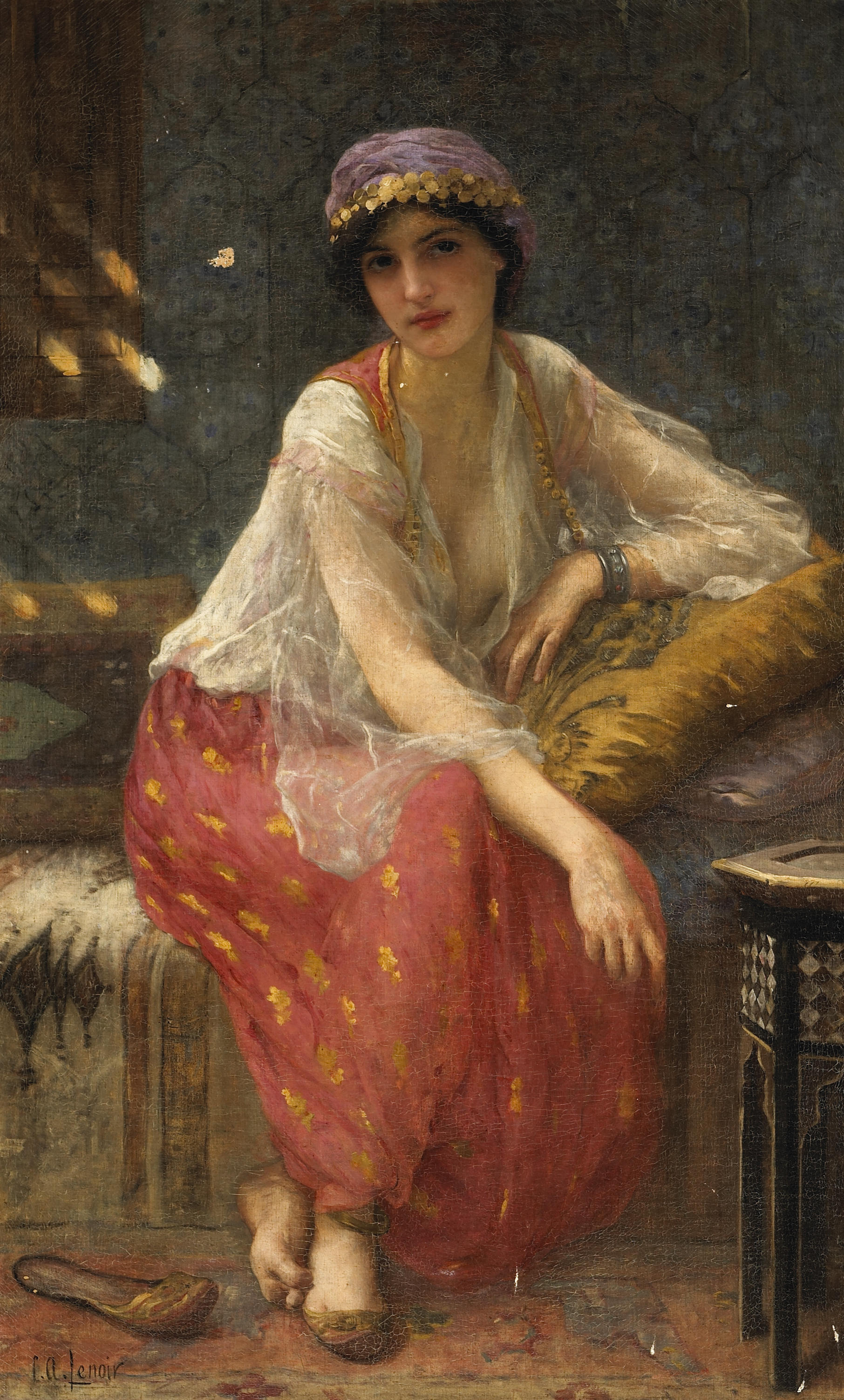 Charles Amable Lenoir -  Odalisque