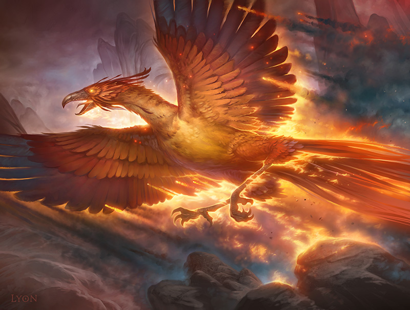 Ashcloud Phoenix - Khans of Tarkir - Magic: the Gathering