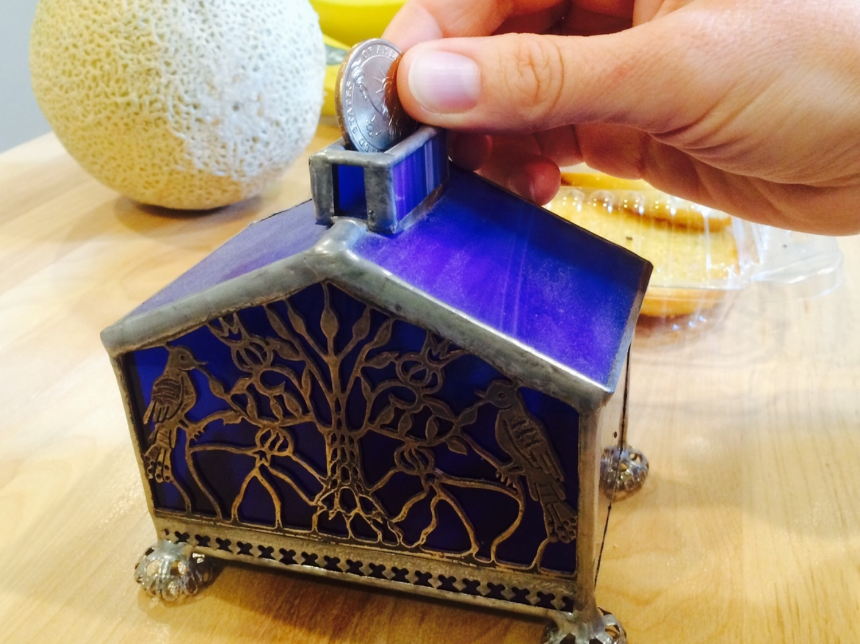Our Real-Life Tzedaka Box!