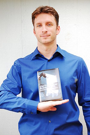 Author Mike Michalowicz self-published his first book and is now a prominent author. (Photo credit: Wikipedia)