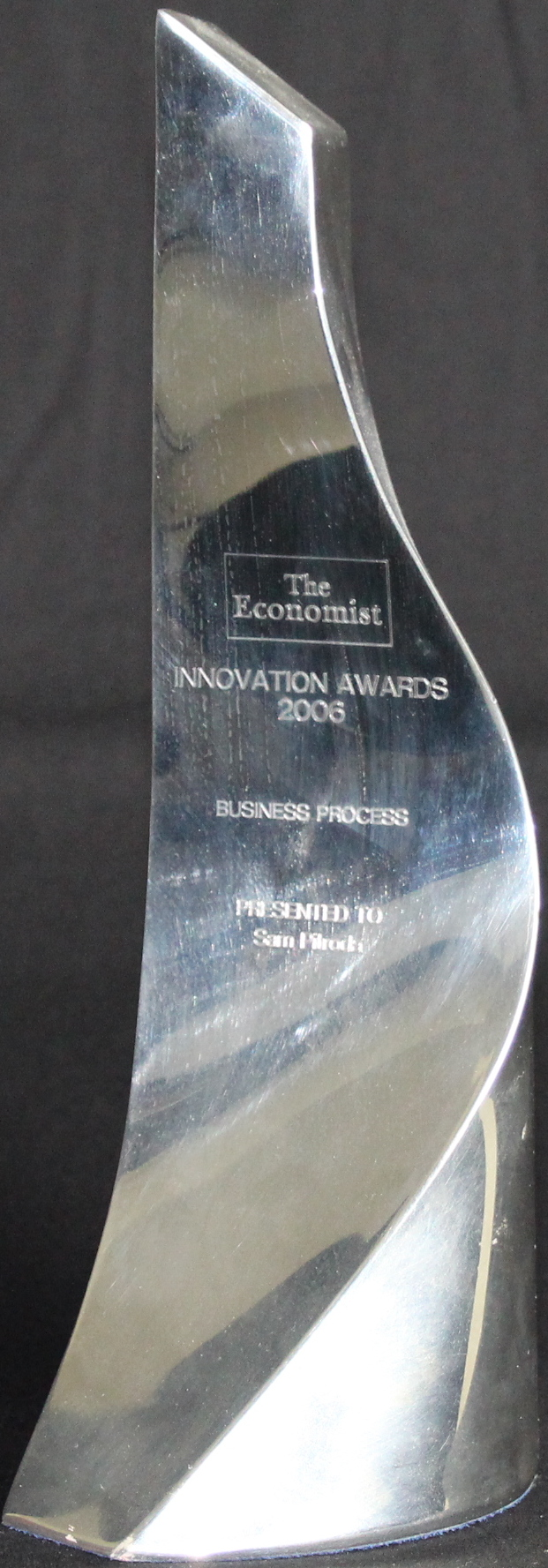 Business Process Innovation Award, The Economist, 2006