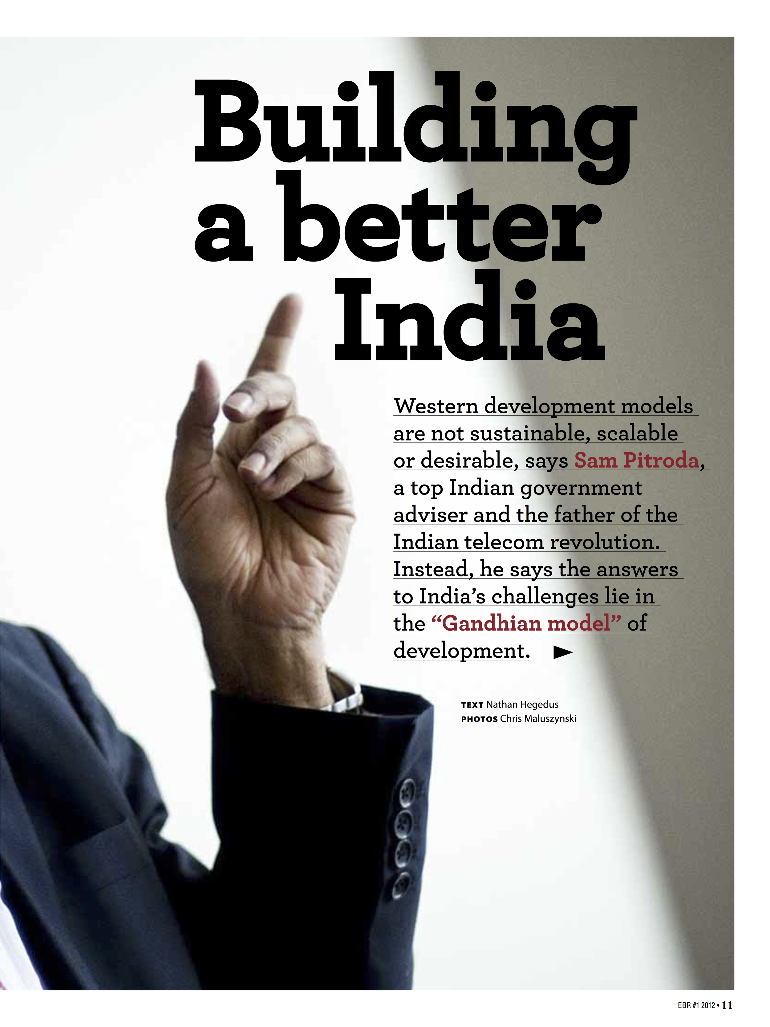 """Building a Better India,"" EBR, 2012"