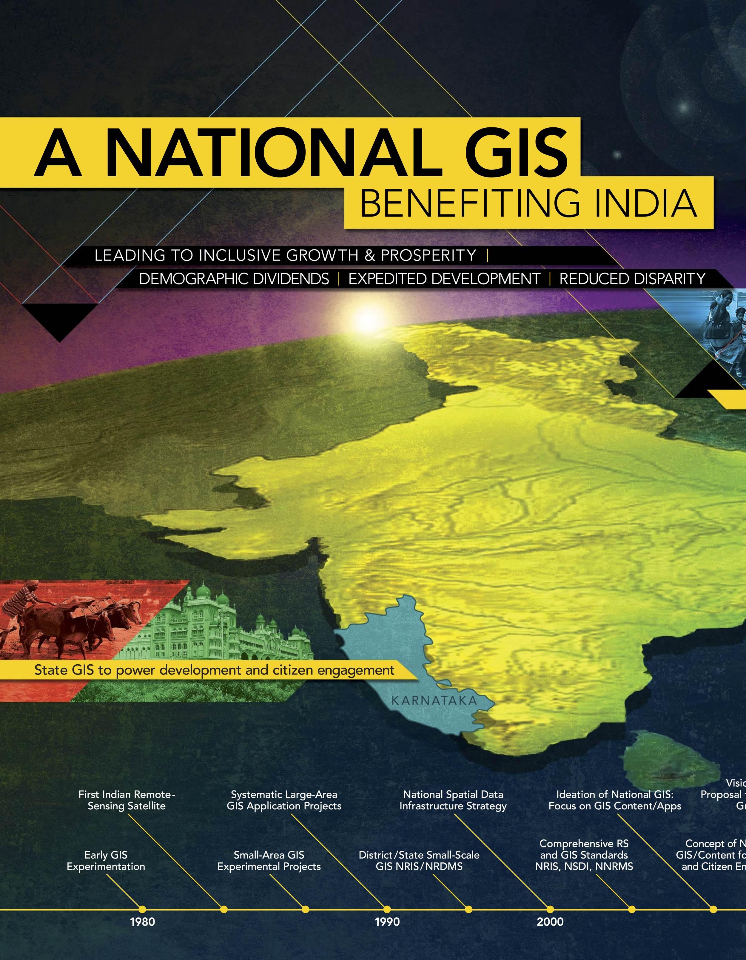 """""""India: A Vision for a National GIS,"""" ESRI ArcNews, 2013"""