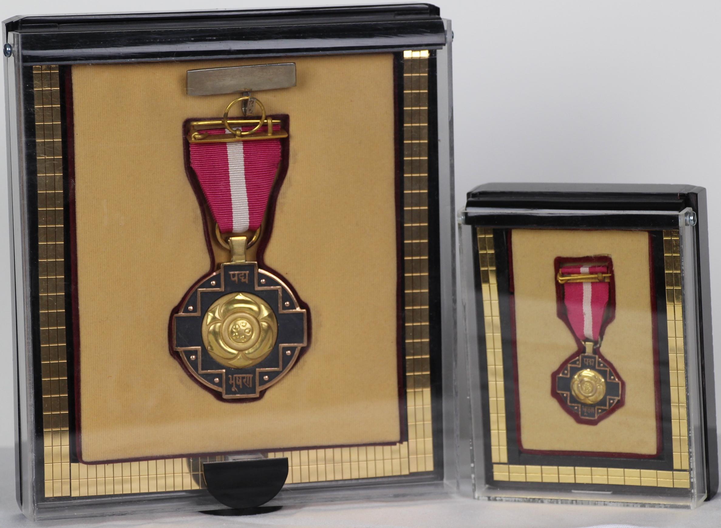 Padma Bhushan Award, Government of India, 2009