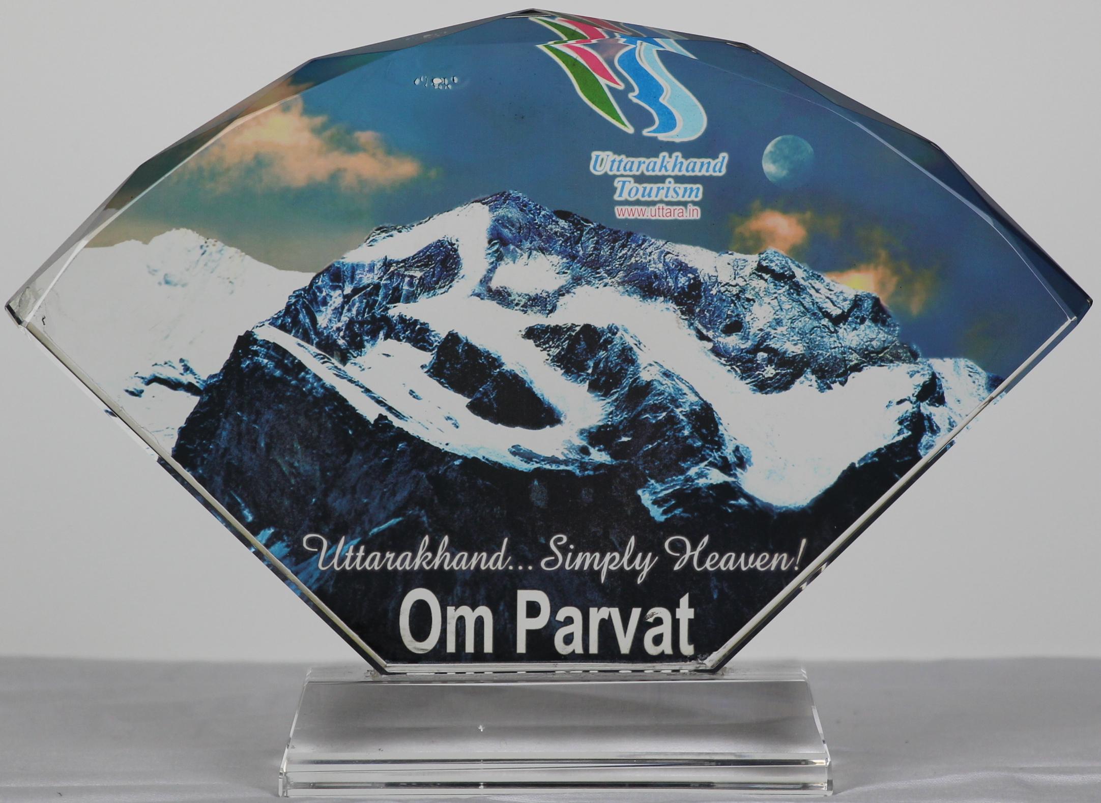 Award of Appreciation, Uttarakhand Tourism