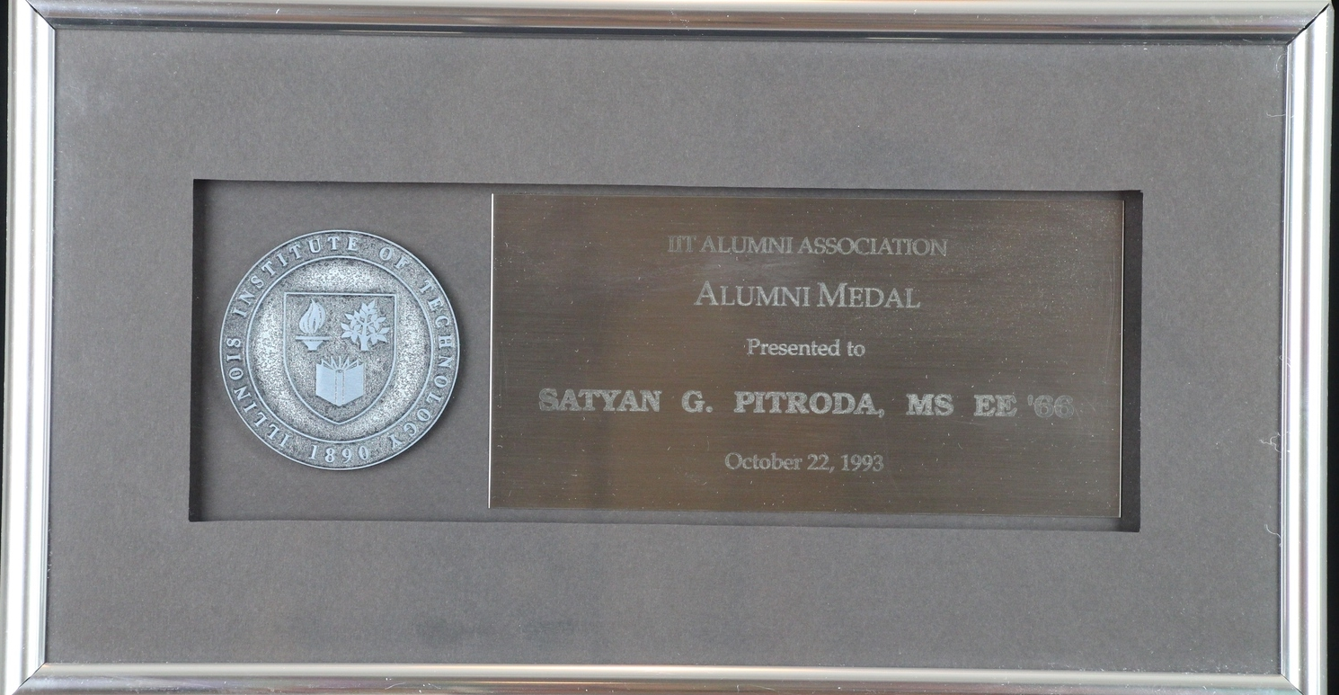 Alumni Medal, IIT Alumni Association, 1993