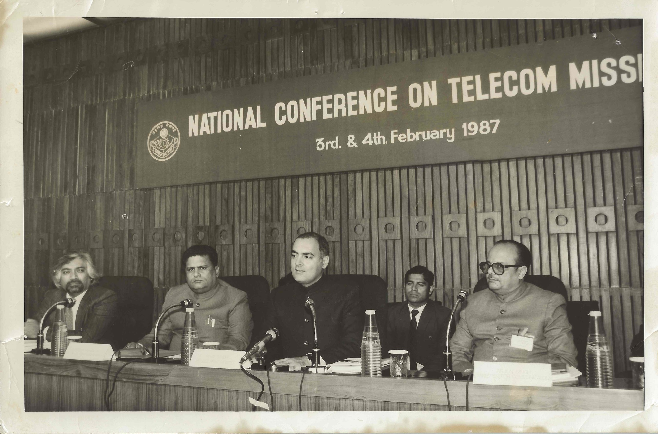 National Conference on Telecom Mission, 1987