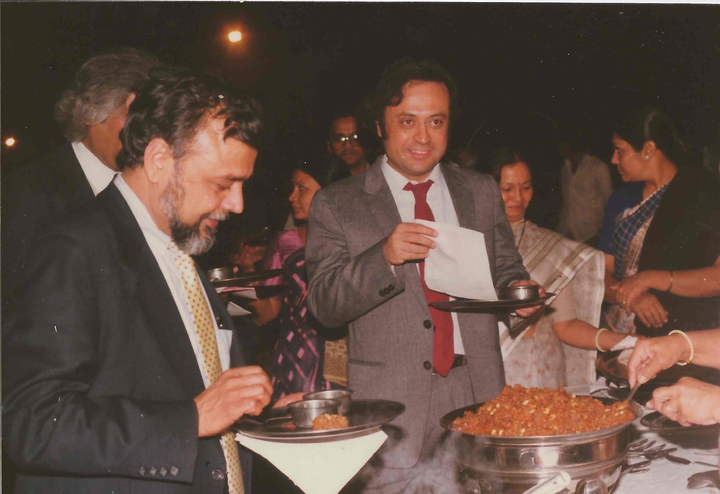 Jairam Ramesh and Prakash Desai