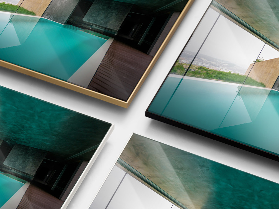Four Frame Colors To Choose From