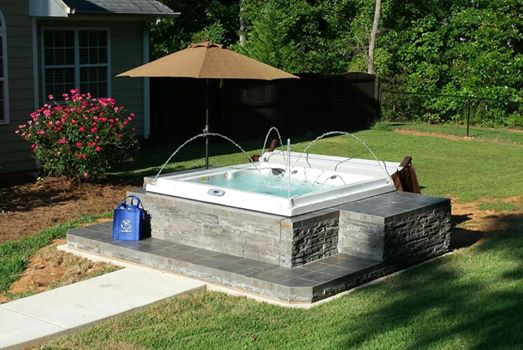 Installation by Atlanta Spa & Leisure. Image as seen on AtlantaSpa.com