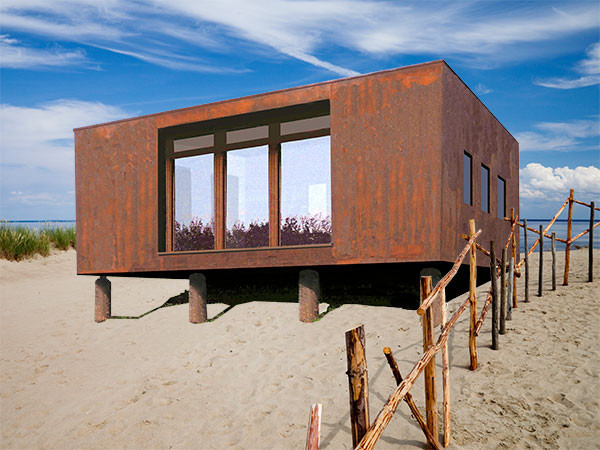 Having a house on wheels or even just a portable home in general opens up the possibility of vacationing anywhere inside your own home.   Image as seen on interiorbystudiom.com