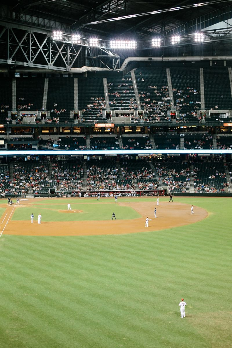 """When you a live in a city it's hard to find time to chill out at one of your local team's games. This is a great staycation activity that is sure to be a """"homerun"""".   Image found on theeverygirl.com"""