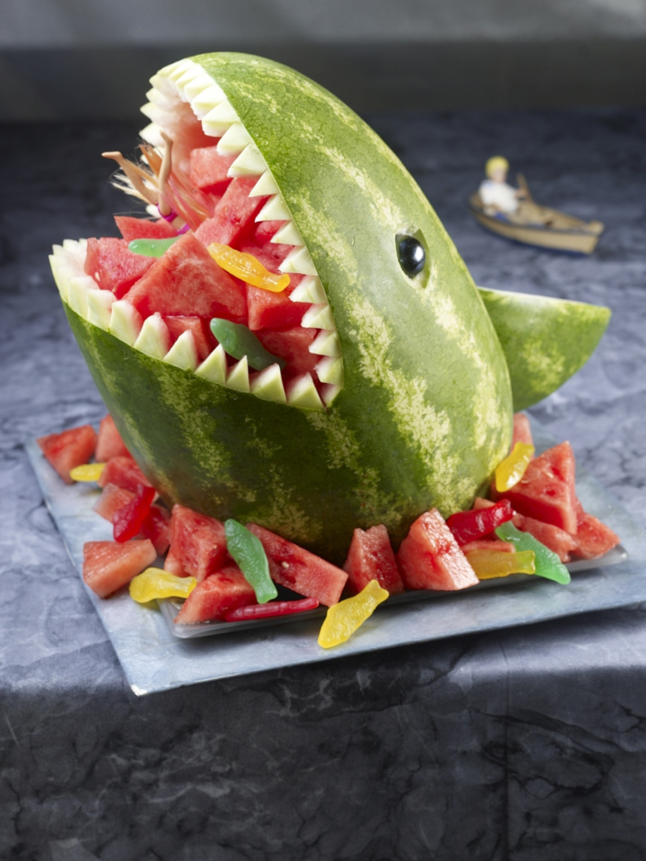 Jaws - Tasty watermelon fruit salad!