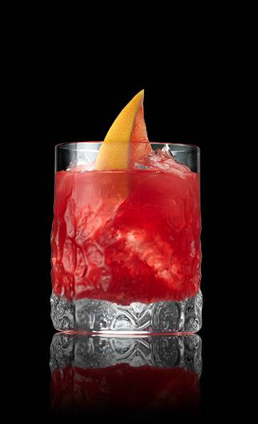 Shark Puncher - This blood red cocktail will be an excellent punch bowl drink to incorporate into your Shark Week viewing party! Click the image for a complete recipe.