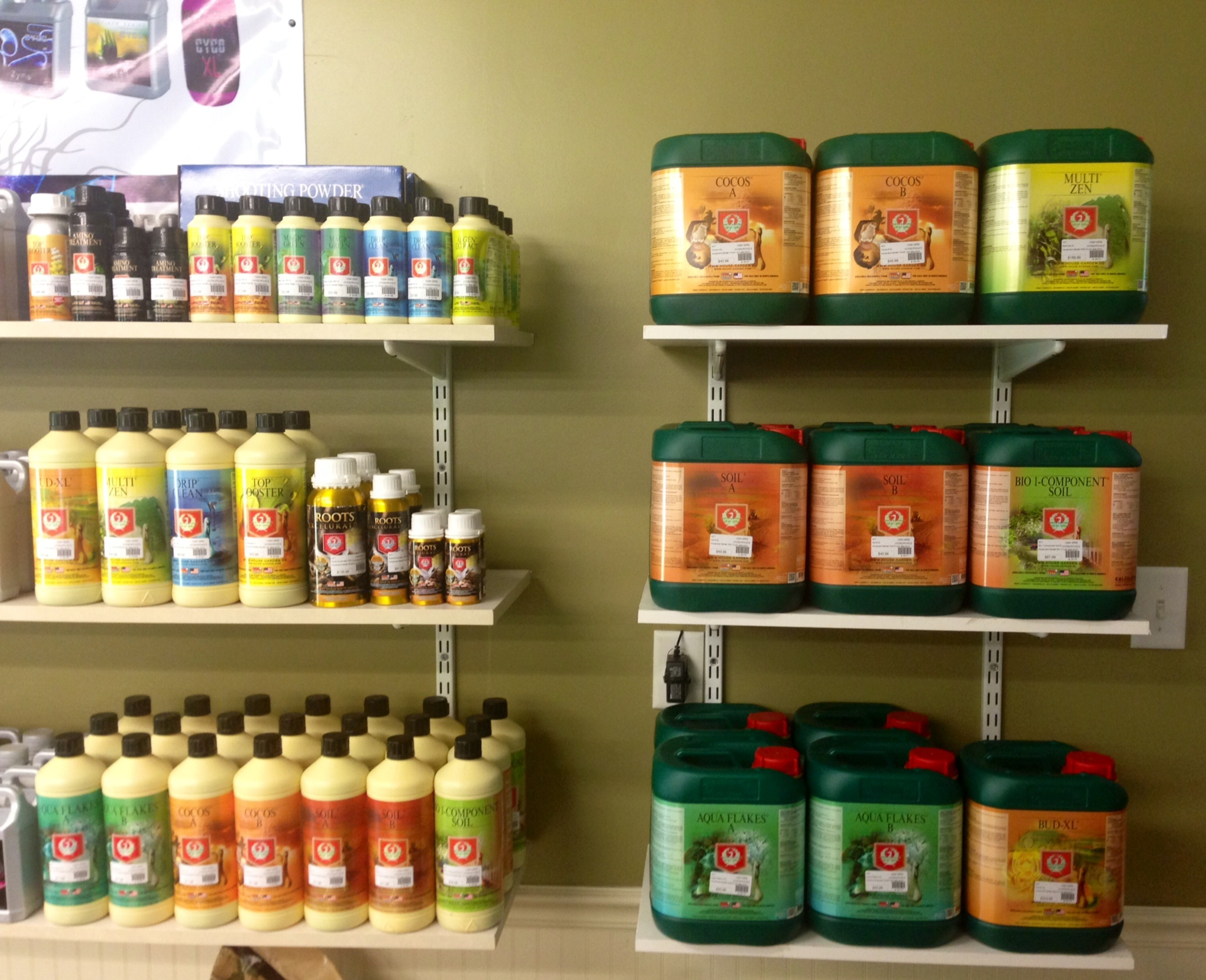 House and Garden line is now at High Wire Hydroponics