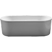 ACCESS 32   Bathtub 180x80 cm (oval, with separate panel) Acryl