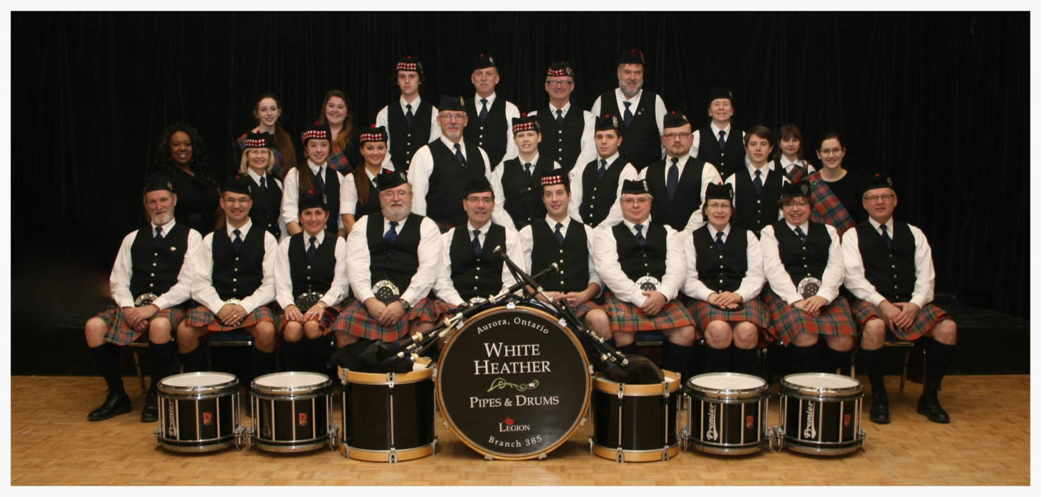 White Heather Pipes and Drums