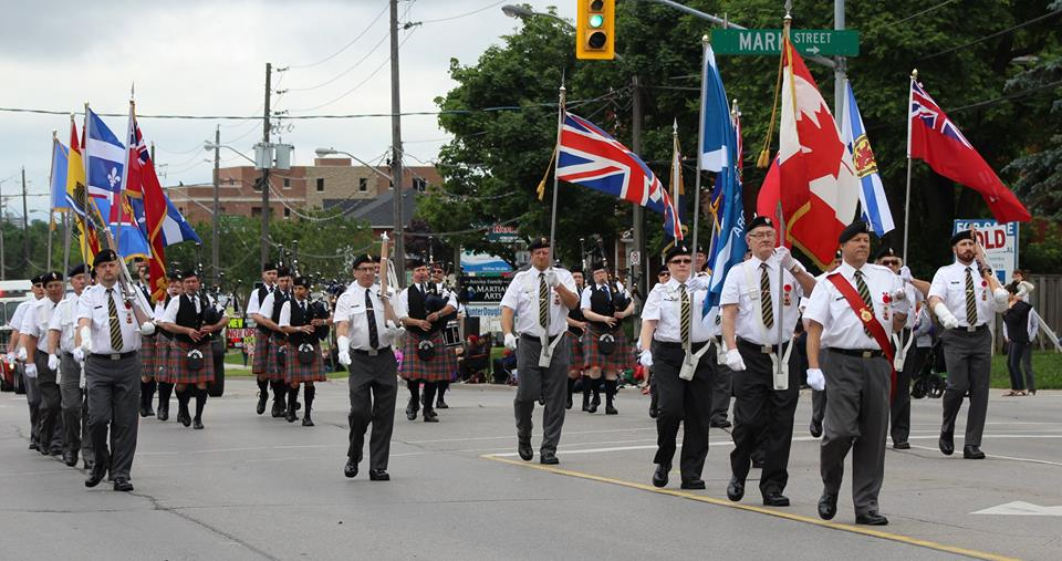 Canada Day Parade - Aurora ON. July 1, 2015