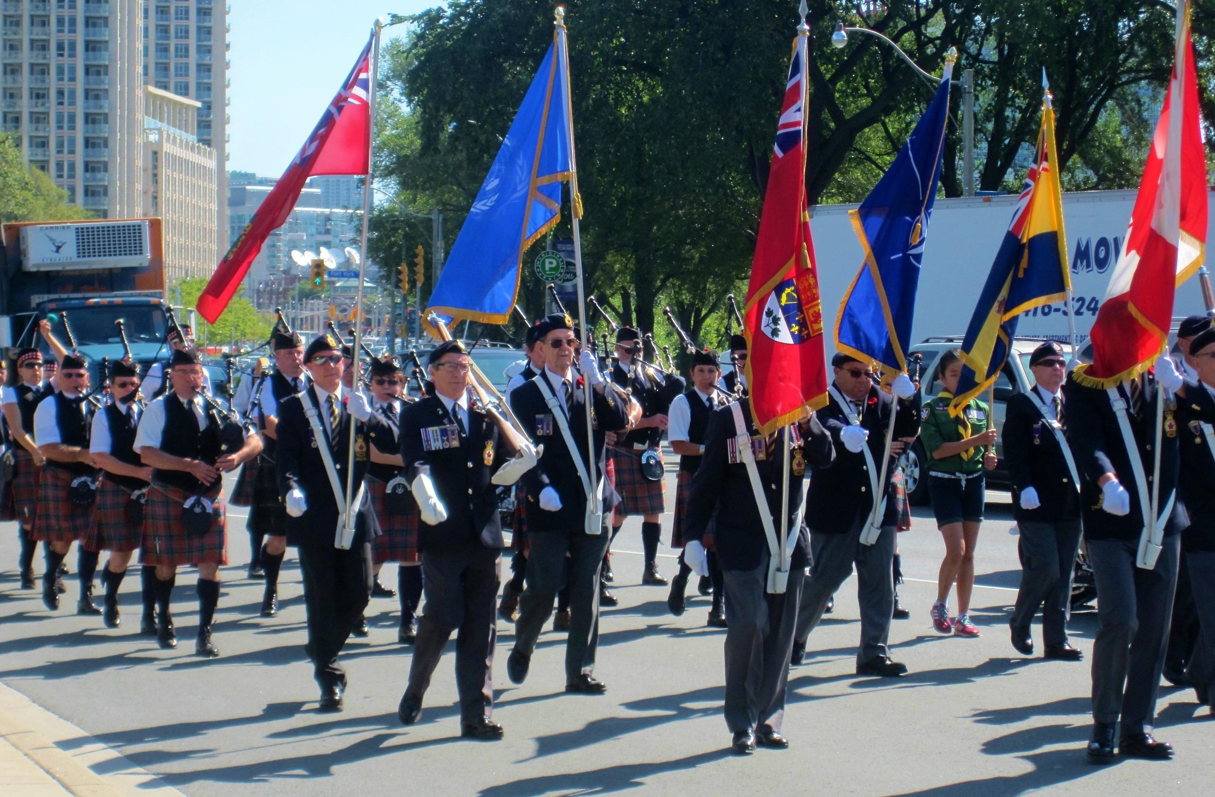 Warriors' Day Parade. CNE Toronto