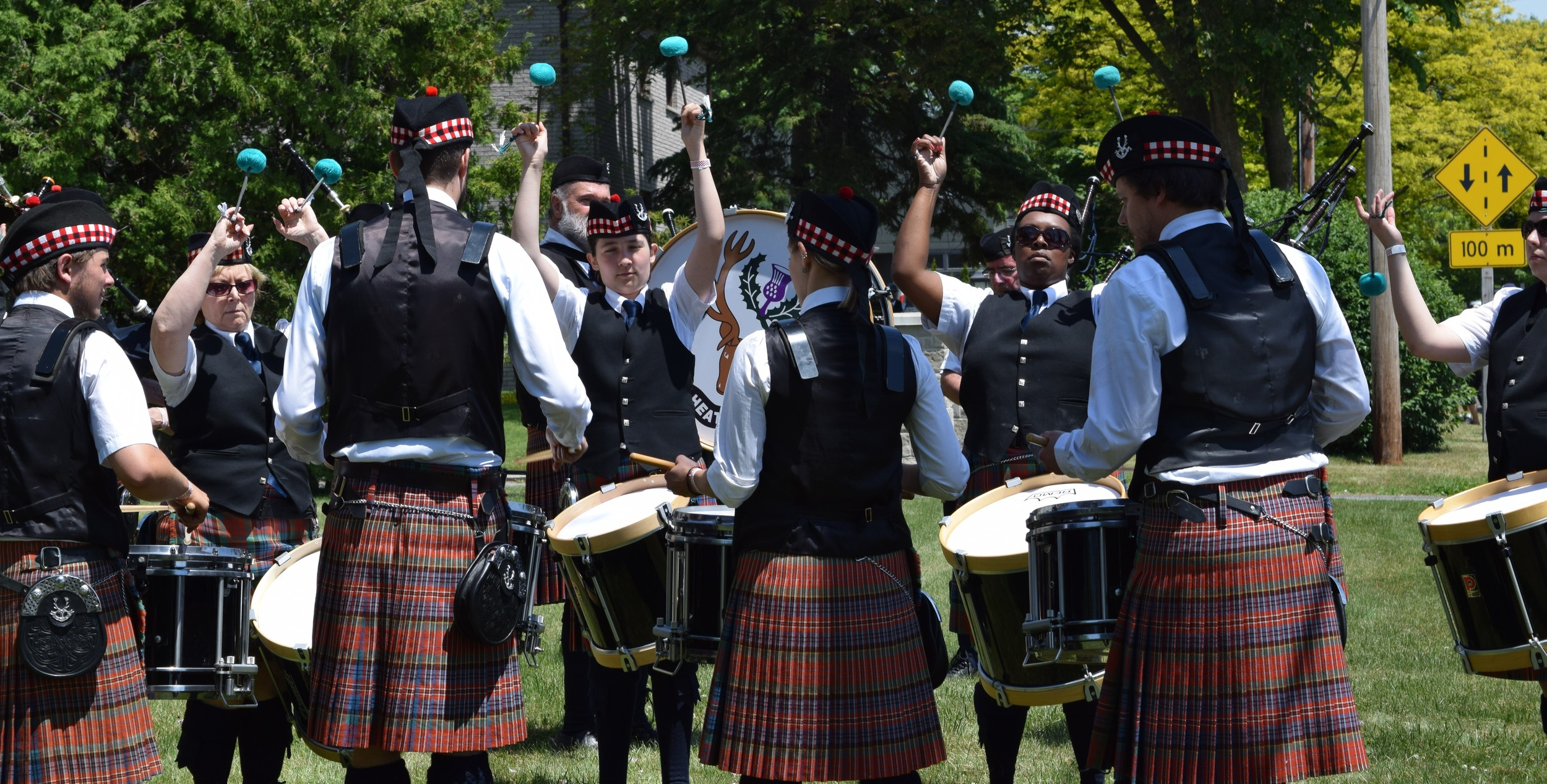 Drum Corps - Cobourg Highland Games
