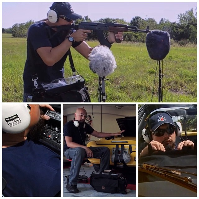 TrewAudio.com   made this collage image from our video. I Highly recommend the   Remote Audio HN-7506   super headphones (straight cable version) for critical monitoring/listening!