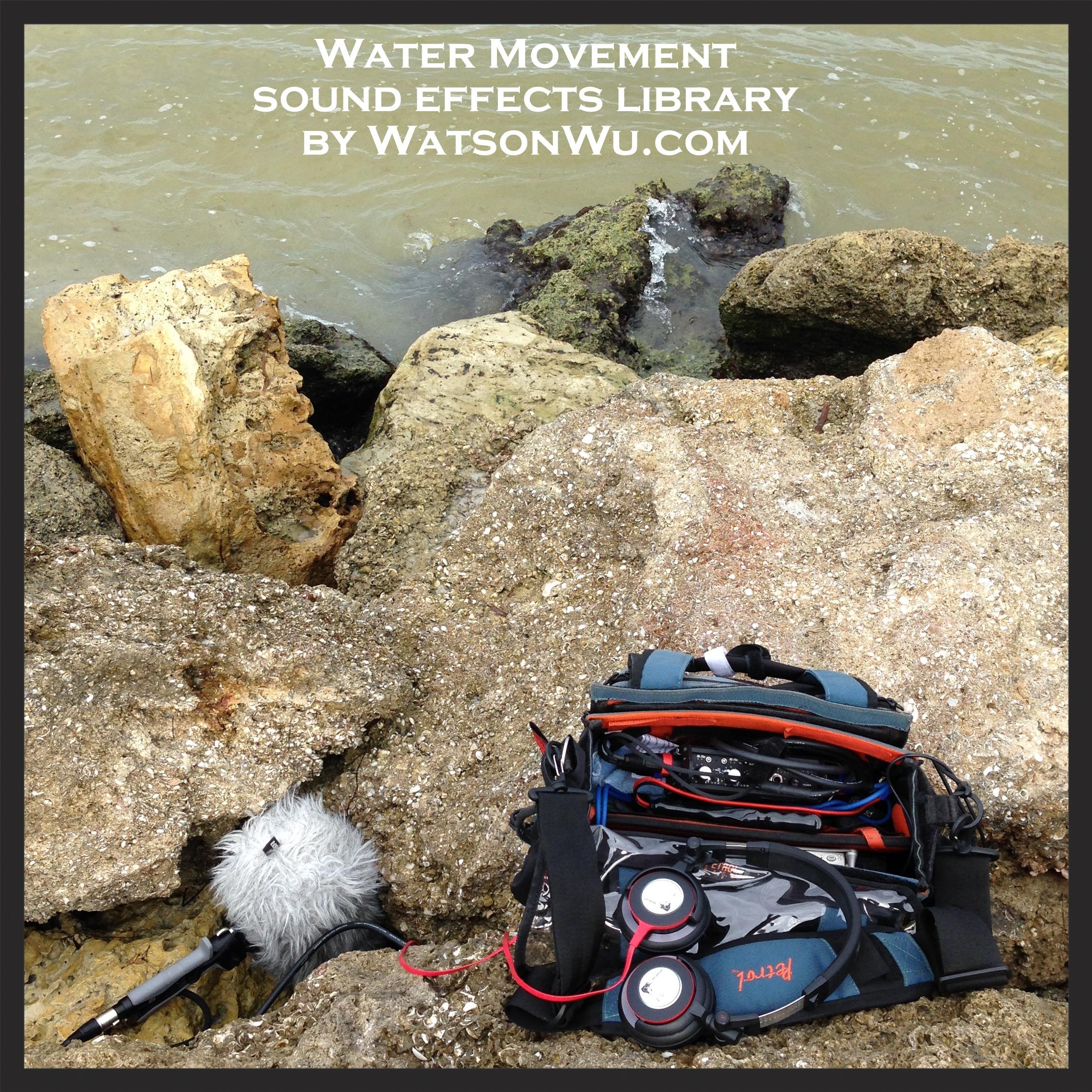 WatsonWu.com - Water Movements (Part 1 Between Rocks) sound clips square.jpg