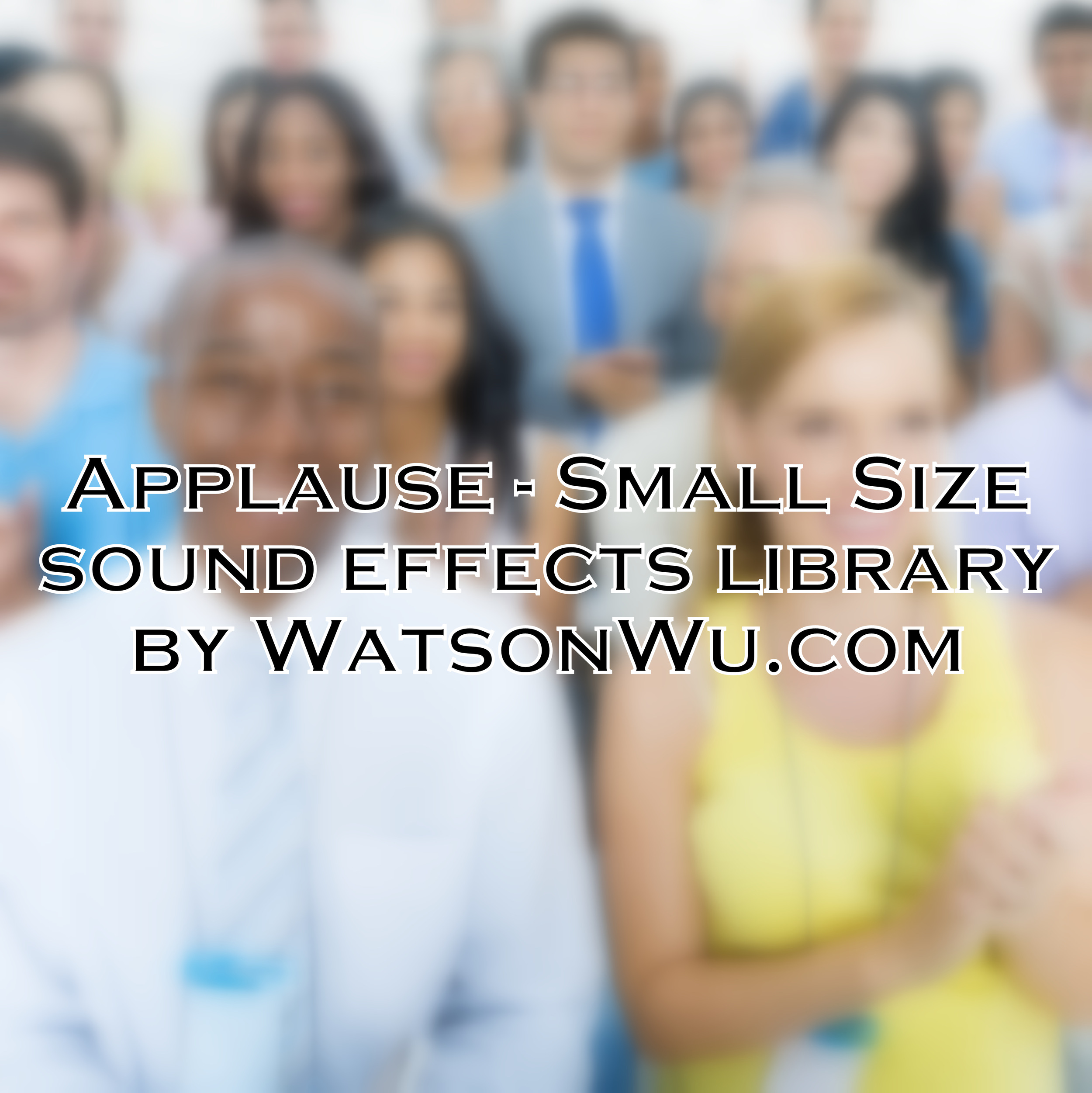 Applause - small size crowds sound effects library