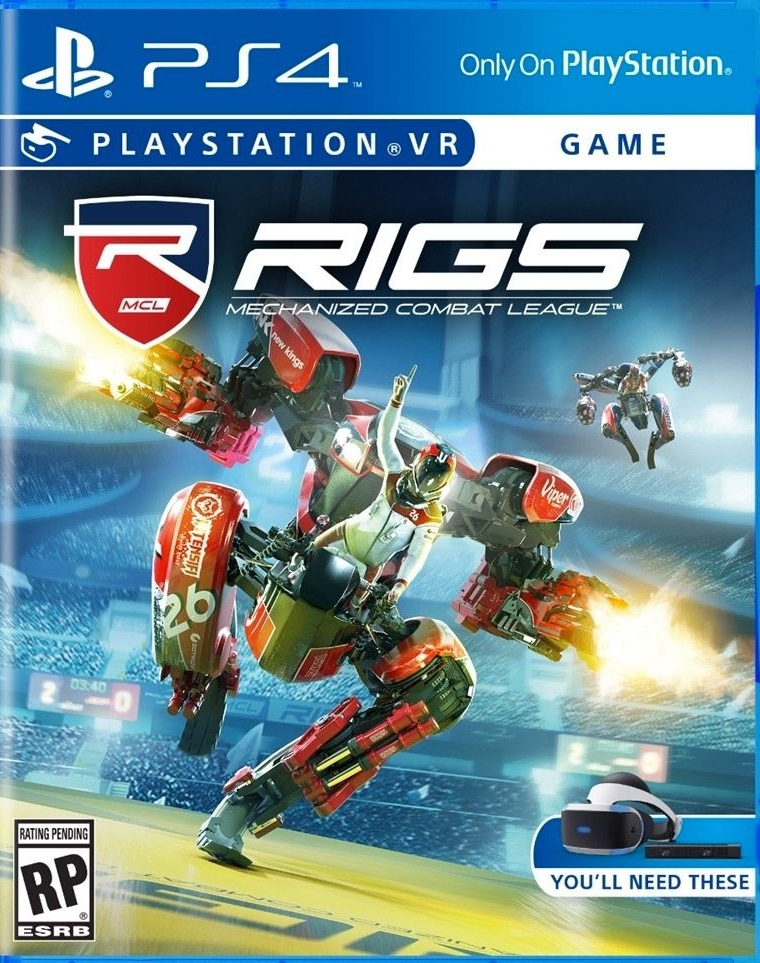 RIGS PS4 VR GAME will be in stores on 10/13/2016