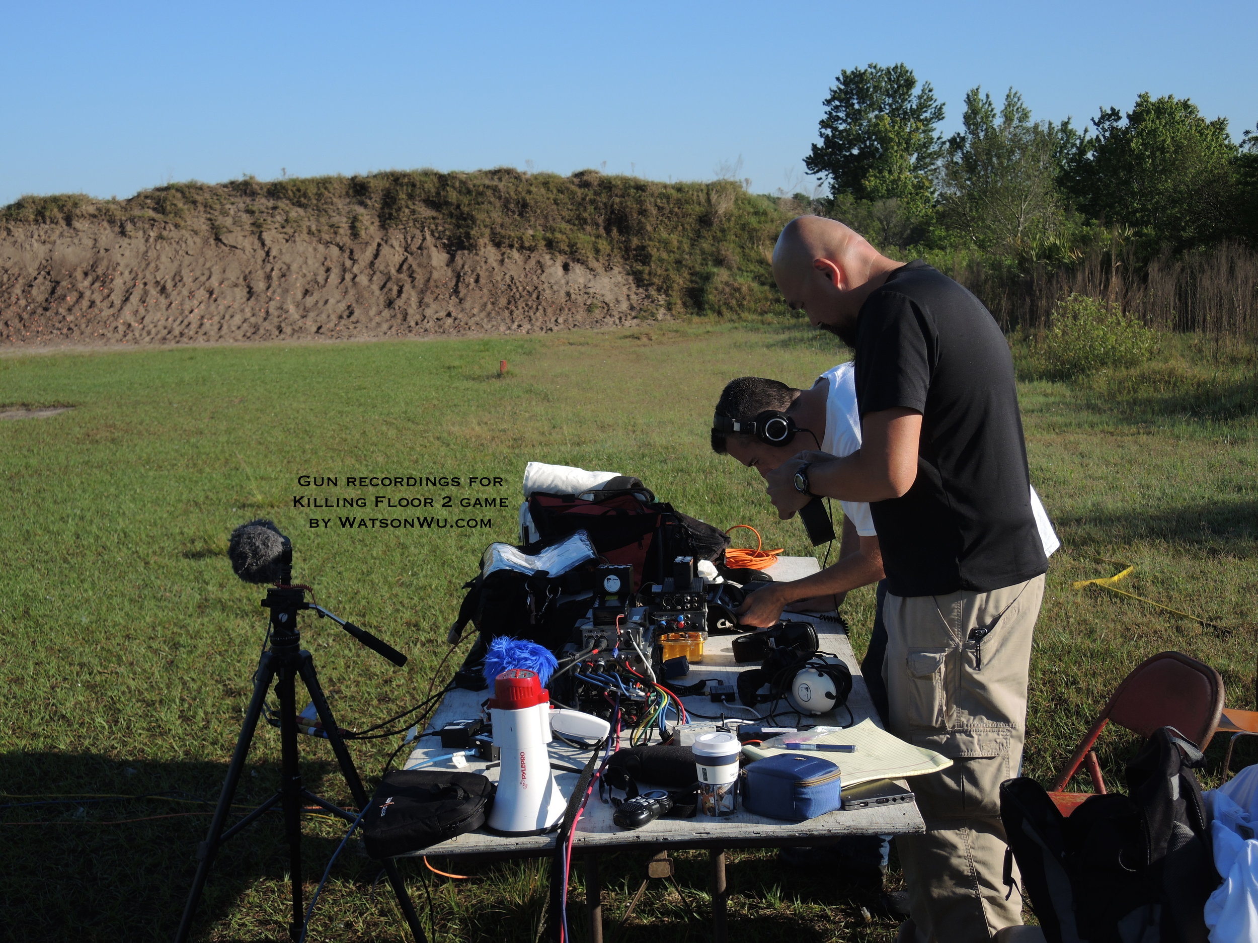 DSCN9858 Recording Setup - Watson & Jesse.JPG