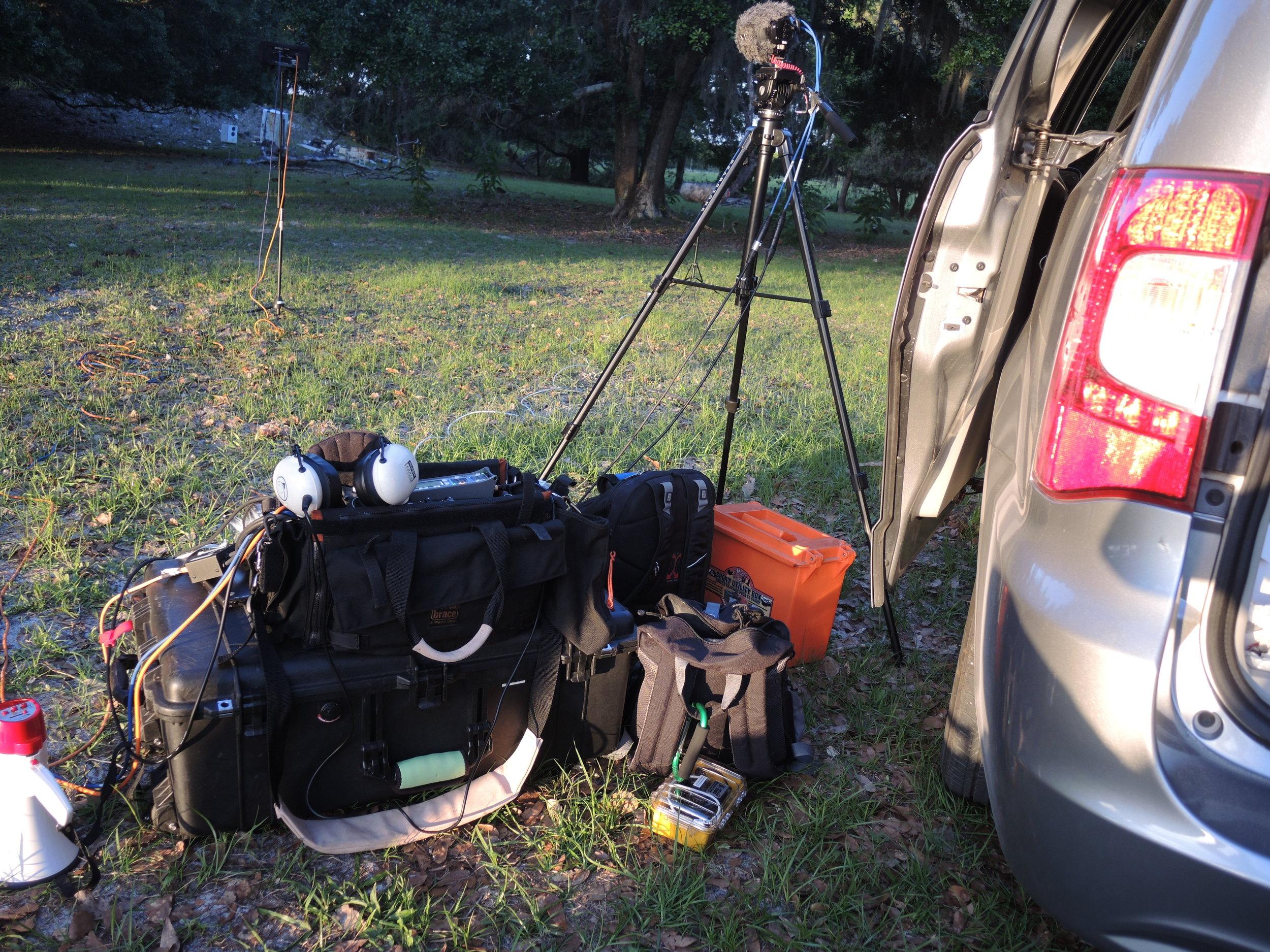 DSCN0180 Forest Location - Recording Gear.JPG