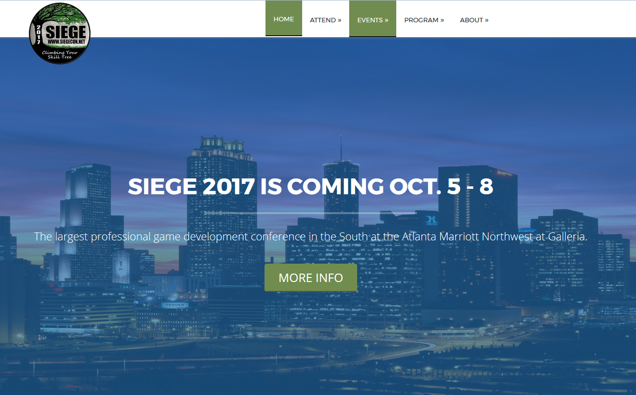 SIEGECON.NET WILL BE IN ATLANTA MARRIOTT HOTEL NW AT GALLERIA (770) 952-7900, 200 INTERSTATE NORTH PARKWAY, ATLANTA, GA 30339