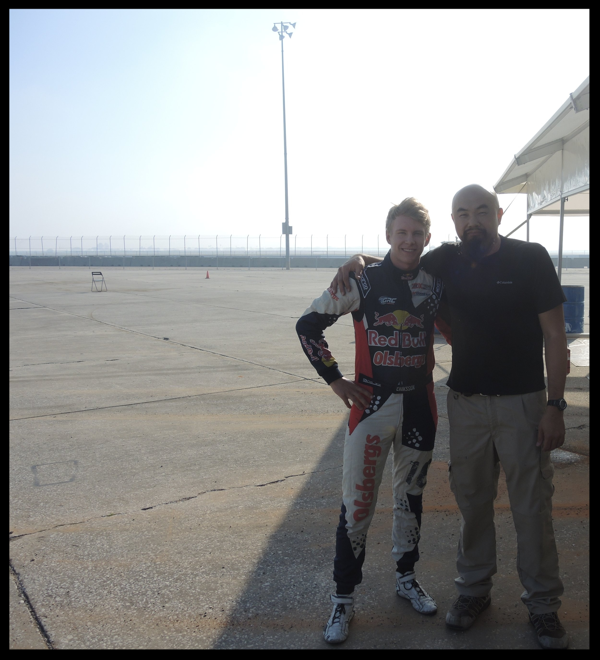 OLIVER ERIKKSON, THE 18 YEAR OLD RACE CAR DRIVER. HE DROVE FAAAAAST WITH THE OMSE HONDA CIVIC RALLY RACE CAR! THE LIGHTWEIGHT 600HP BEAST DOES 0-60 IN 1.9 SECONDS!!! THIS IS THE FASTEST CORNERING CAR I HAVE EVER SAT IN!!!