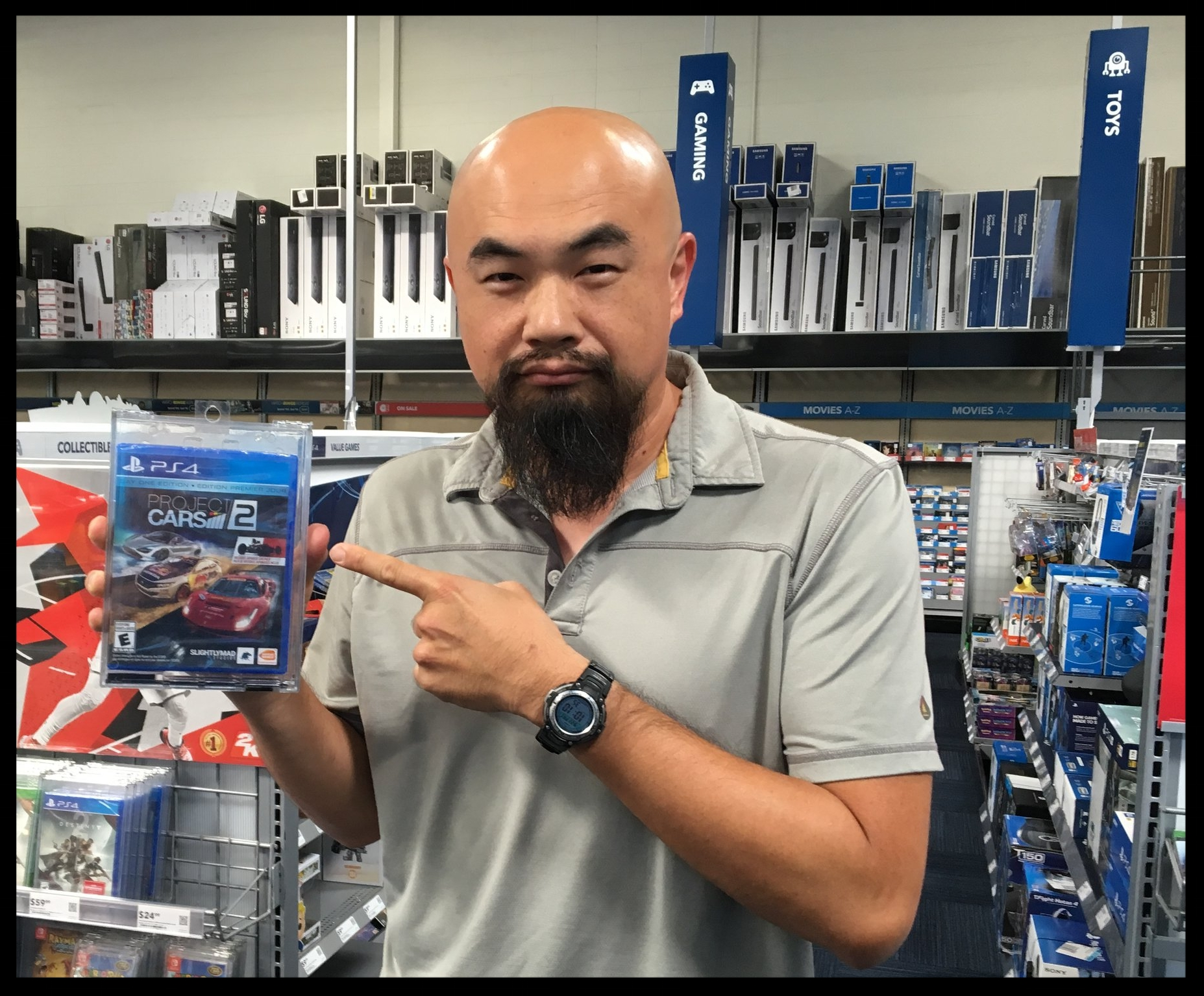PROJECT CARS 2 GAME IN BEST BUY AND OTHER MAJOR RETAIL STORES