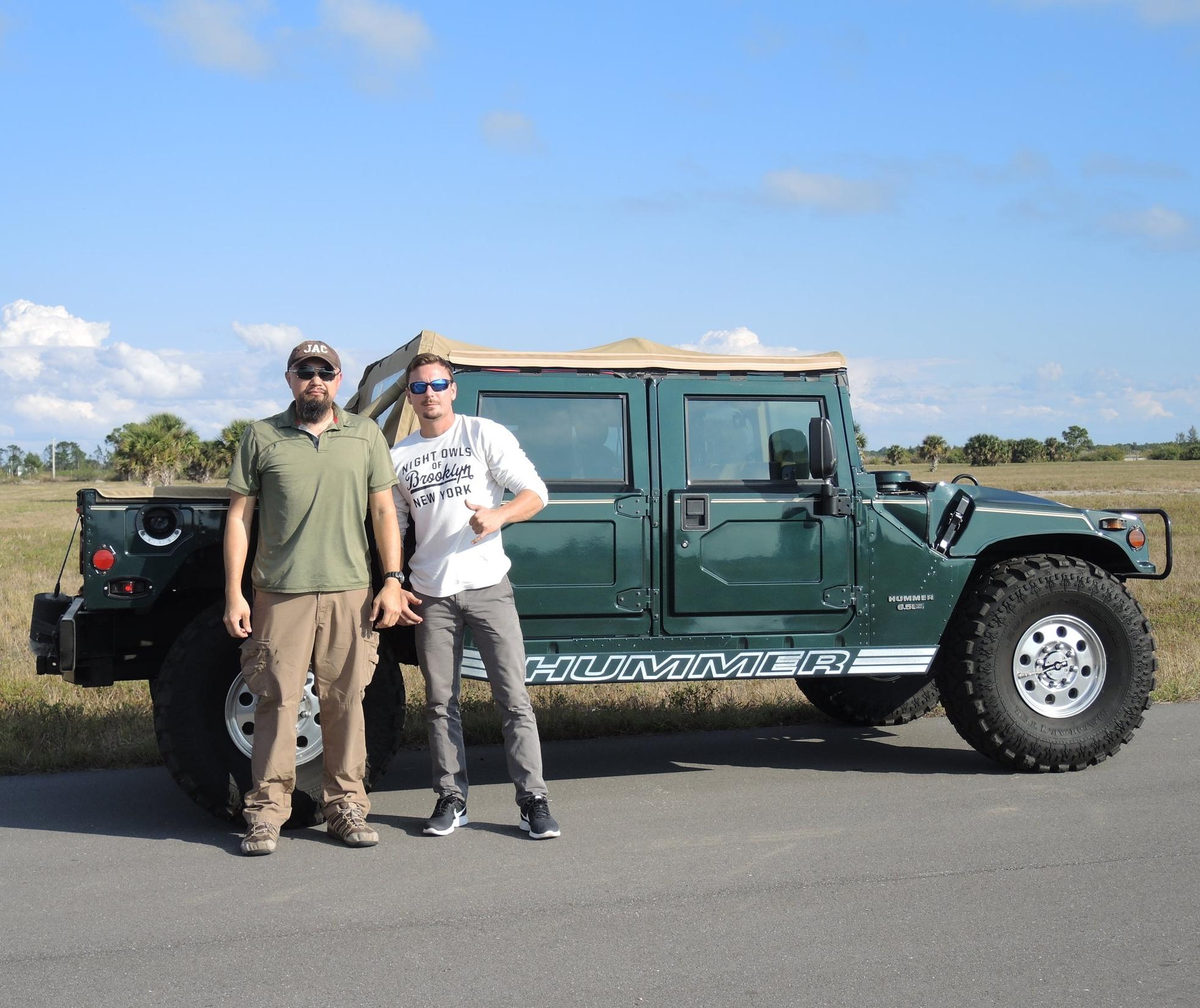 Watson, Richard & Humvee