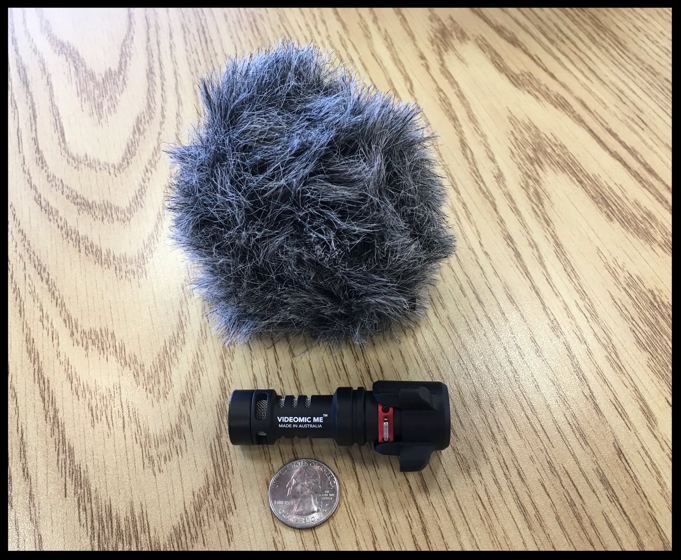 Rode VideMic Me-L Fur with coin IMG_1914.JPG