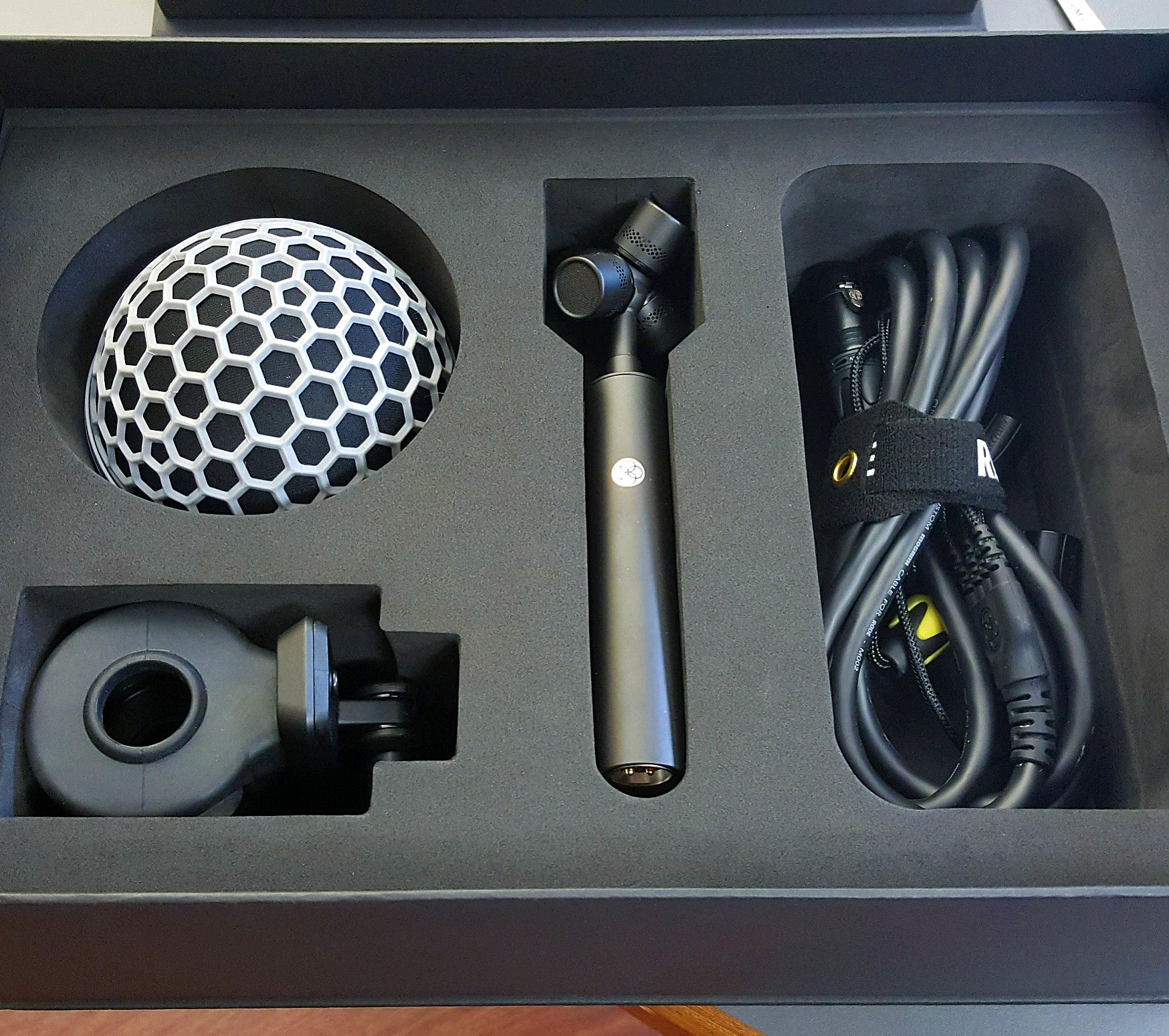 IMG_2251 New Rode NT-SF1 ambisonic microphone.JPG