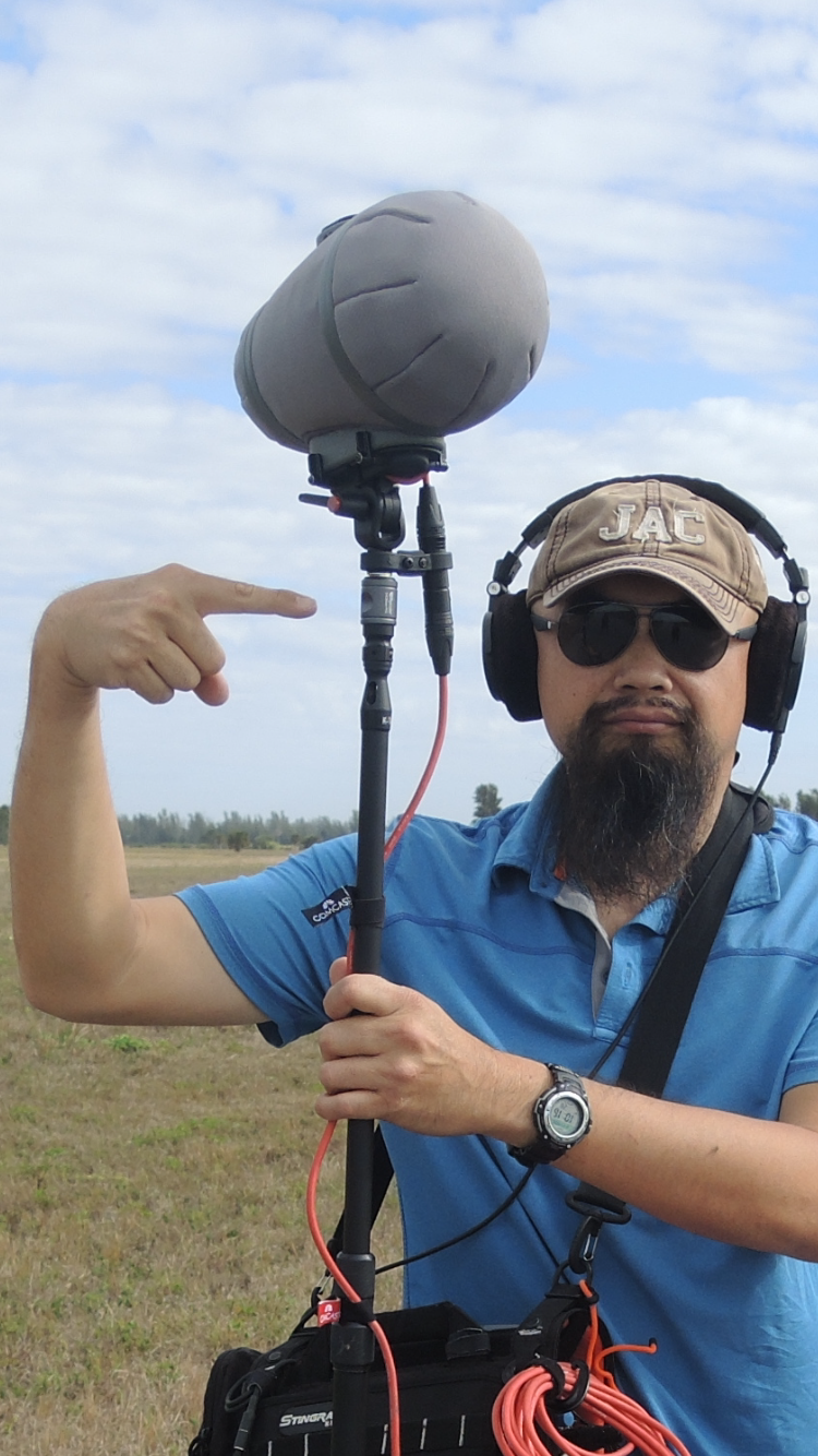 Rycote PCS Boom Connector on a boom pole (photos & videos by Jason Shortuse)