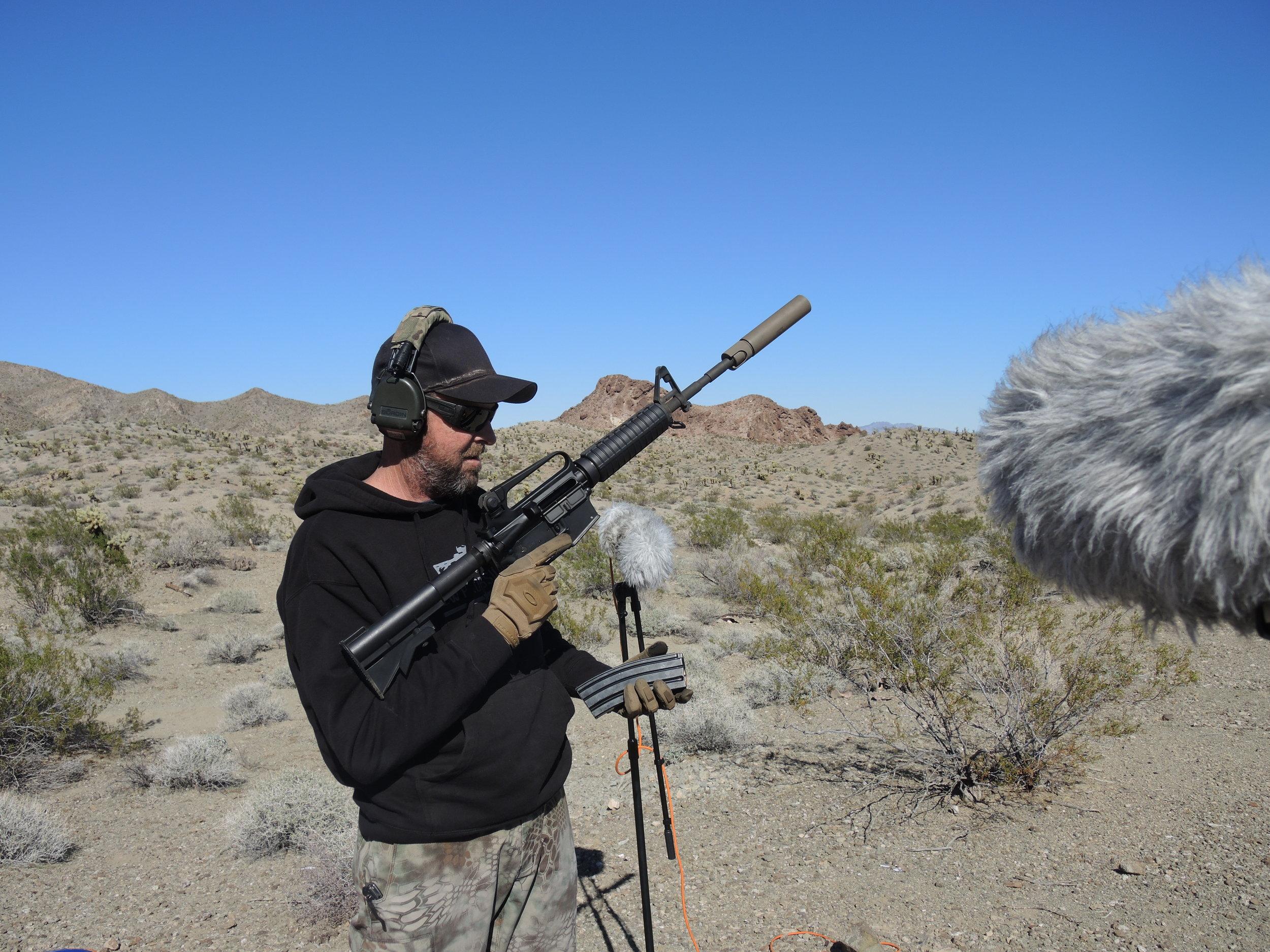 Weapon DSCN2185 Suppressor M4.JPG