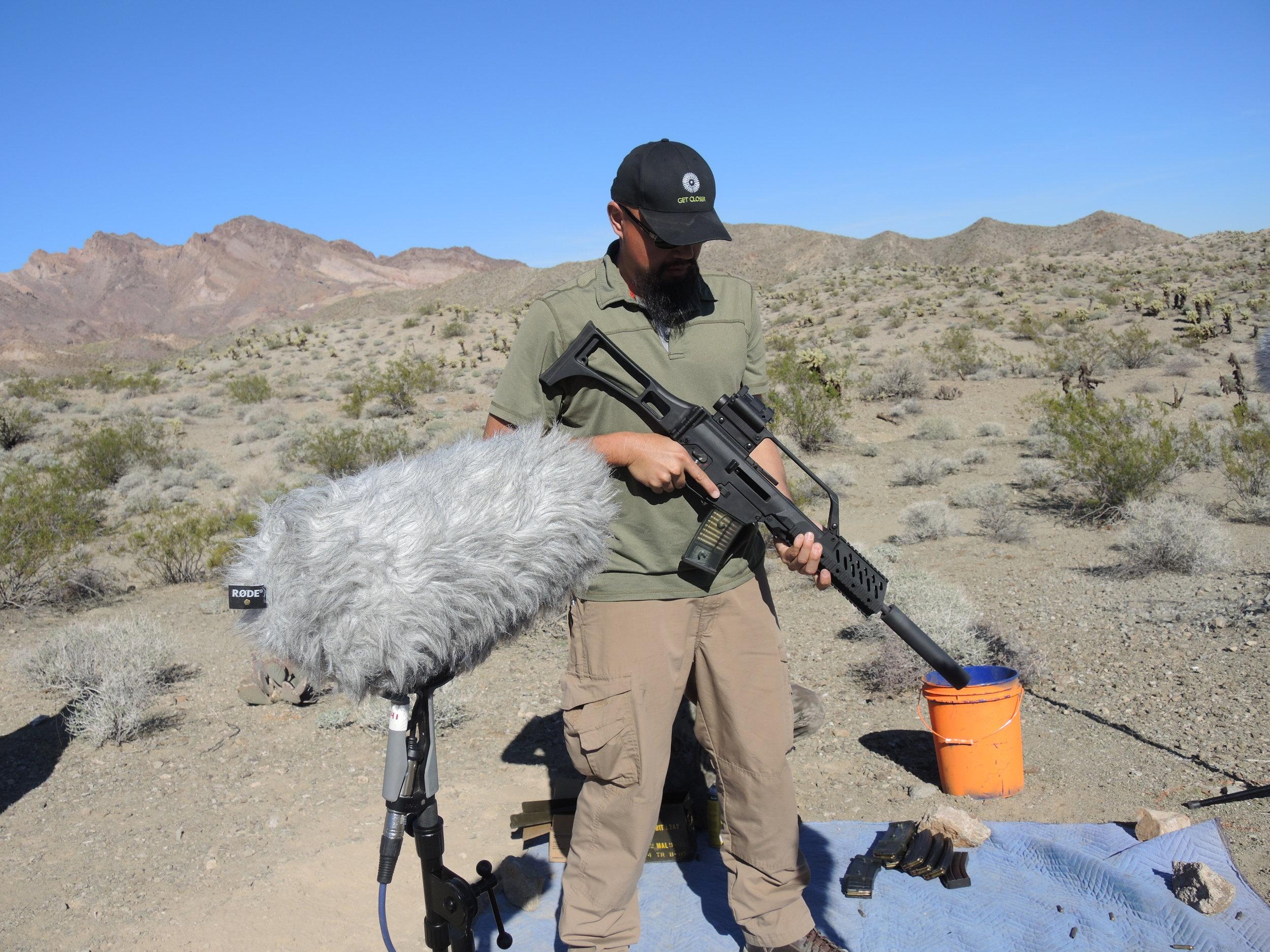 Weapon DSCN2304 G36 Suppressed - Watson.JPG