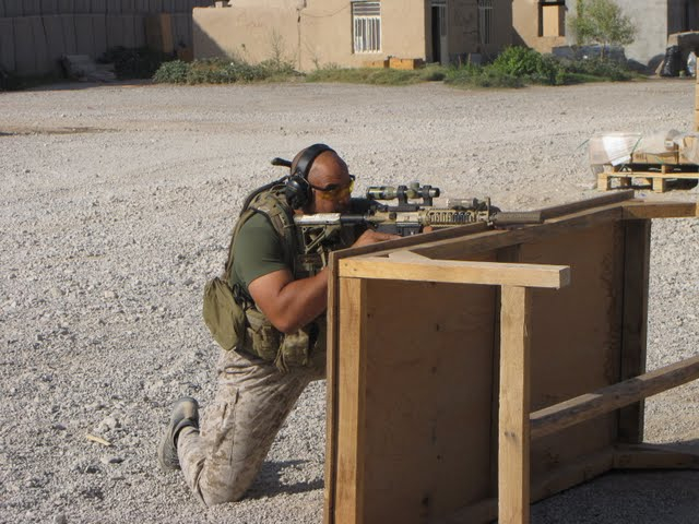Practical application of the fundamentals--Buck Doyle, Afghanistan, Aug. 2009.