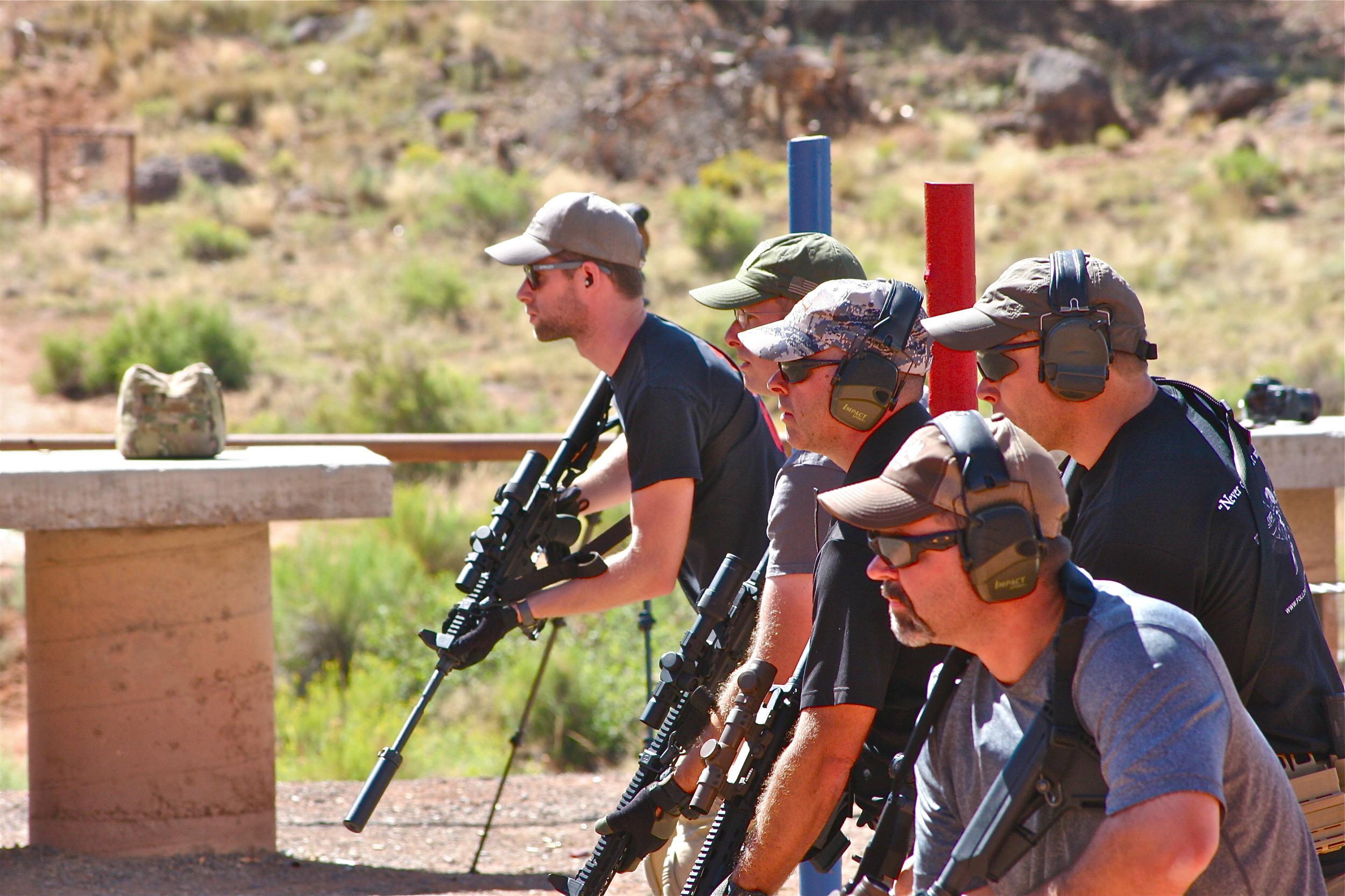 Firearms Training & Instruction: Scoped Carbine Course, Utah, Rifle, AR