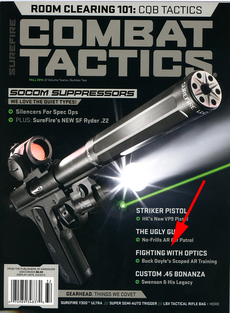 Follow Through's Scoped Carbine course is featured in the current issue of Combat Tactics Magazine.