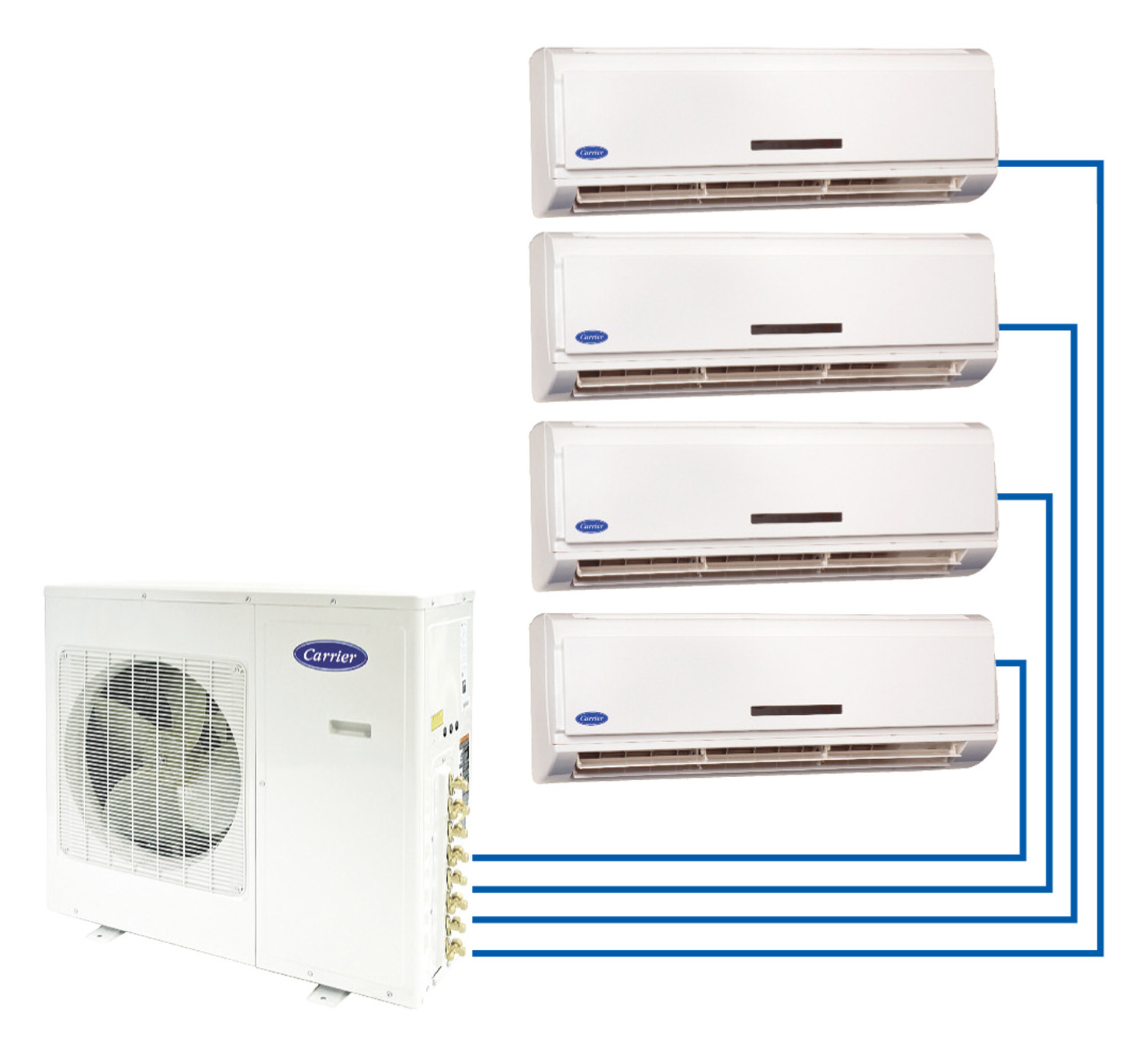 Carrier Toshiba Ductless Systems