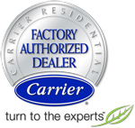 Sullivan Heating & Cooling is proud to be a Carrier Factory Authorized Dealer