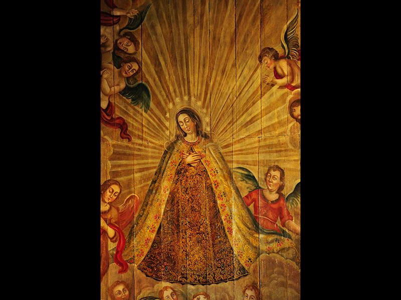 Pintura Colonial - Tetos, Altares e Quadros