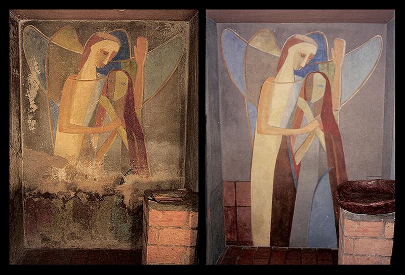 Arte Integrada a Arquitetura: Pintura Mural