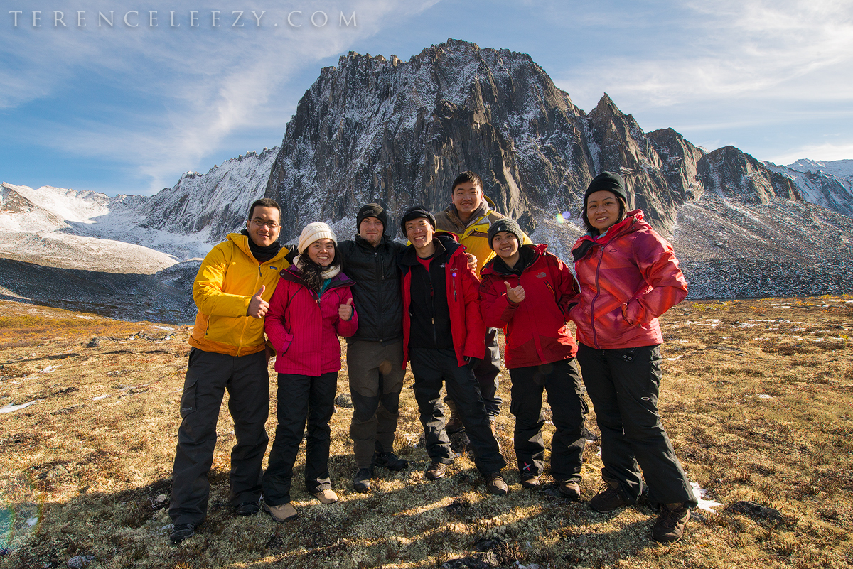 Our group photo with Marc Adamus.